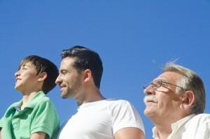 男性3世代
