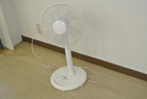 床置き扇風機