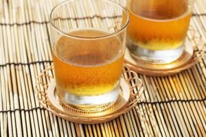 冷たい麦茶グラス×2