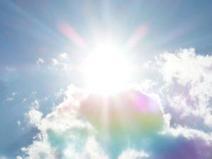 太陽による紫外線