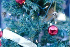 クリスマスツリーアップ