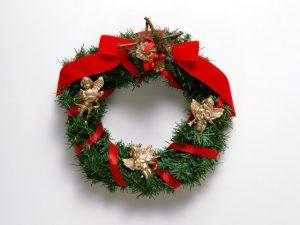 クリスマスリースエンジェル