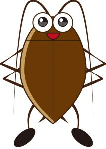 かわいいゴキブリ