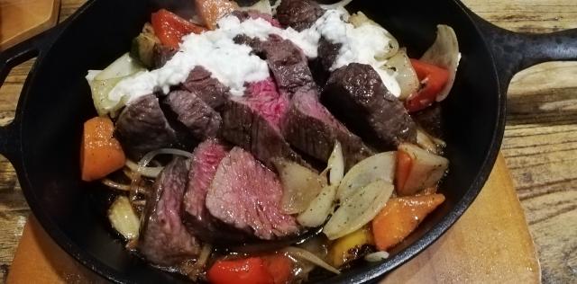 たっぷりお肉と野菜