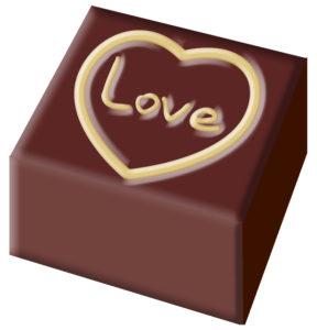 バレンタインチョコ LOVE